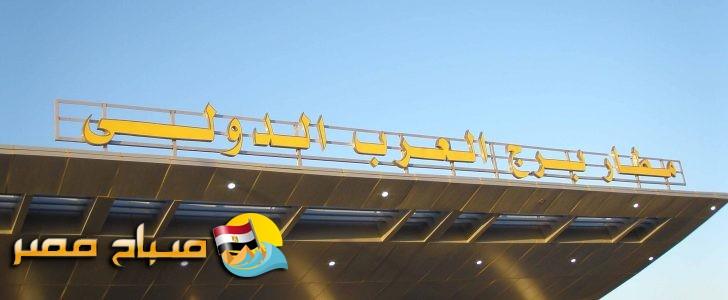 إحباط محاولة تهريب عدد من أجهزة التتبع (GPS) بمطار برج العرب