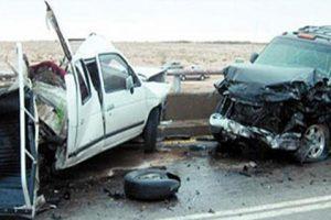 إصابة شخصين فى حادث سيارة أعلى طريق إسكندرية الصحراوى