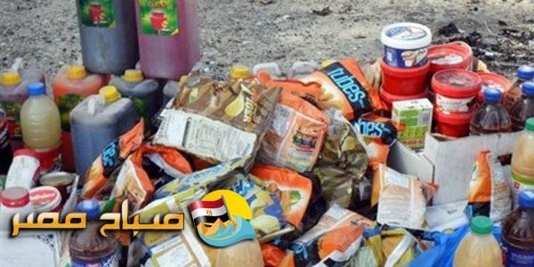 ضبط 550 عبوة عصير منتهية الصلاحية بالإسكندرية