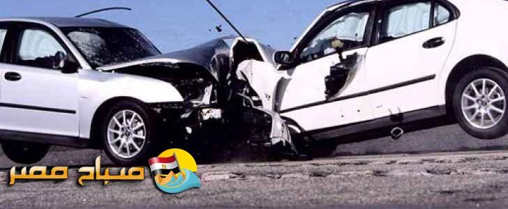 حادث تصادم بين 10 سيارات فى طريق إسكندرية الصحراوى يسفر عن وفاة 4 واصابة 39 آخرين