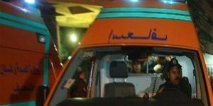 انقلاب سيارة ميكروباص
