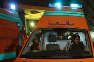 إصابة مستشار إثر نقلاب سيارته بطريق اسكندرية-مطروح