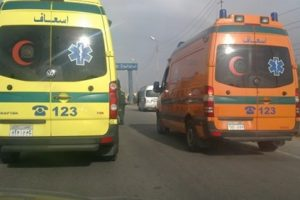 مصرع 3 اشخاص وإصابة 9 أخرين فى حادث تصادم مروع بطريق اسكندرية الصحراوي