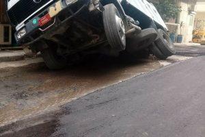 انقلاب سيارة بأبو حمص في البحيرة يسفر عن مصرع شخص وإصابة آخر