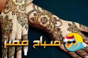 اجمل رسومات من الحناء للعروسة