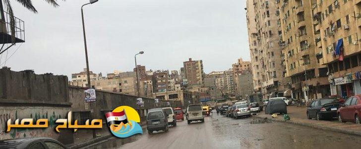 بالصور هطول أمطار على عدة مناطق بالإسكندرية