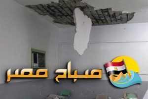 إصابة ربة منزل فى انهيار عقار بالحضرة فى الاسكندرية