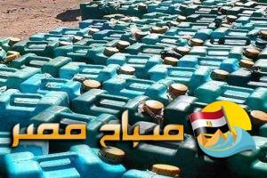 حملة تموينية مشددة تسفر عن ضبط 200 لتر بنزين مدعم جاهزين للتداول فى السوق السوداء