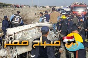 القبض على السائق المتسبب فى حادث انقلاب واحتراق اتوبيس الاسكندرية