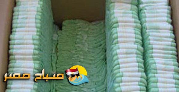 ضبط صاحب مصنع ورقيات يقوم بتصنيع حفاضات اطفال من تدوير المخلفات بالاسكندرية