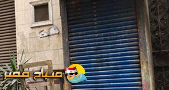بالصور .. شكوي من سكان احد العقارات بشارع طيبة بقيام ساكن بهدم جزء من العقار وتحويله لمحل سباكه