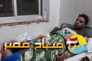 صور مصابي حادث انقلاب واحتراق أتوبيس الإسكندرية داخل المستشفيات