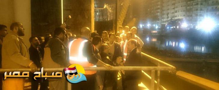 رئيس مدينة دمنهور: اصلاح ماسورة مياه بمدخل المدينة الجنوبى وصيانة أعمدة الكهرباء
