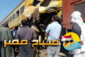بالفيديو … انفصال عربتى قطار الموت بالبحيرة ..والغربية والاسكندرية تدفعان بسيارات الاسعاف