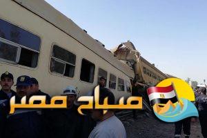 حادث تصادم قطار بنها ميت غمر وارتفاع عدد الوفيات