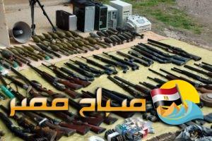 ضبط 490 بندقية خرطوش بالمنطقة الغربية