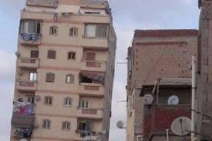 توفير مساكن بديلة لسكان عقار غبريال المائل والهدم حتى سطح الأرض بالاسكندرية