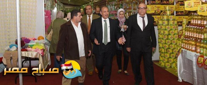 محافظ الاسكندرية يتفقد معرض (اهلا رمضان) بارض كوتة ويطمئن على توافر السلع الاساسية