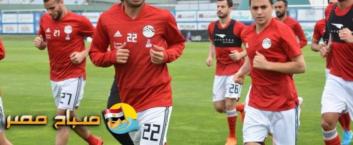 تشكيل منتخب مصر المتوقع فى مباراة أوروجواى مونديال روسيا