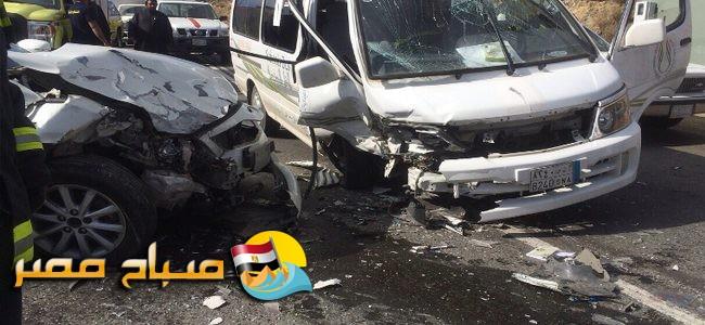 مصرع وإصابة 3 أشخاص في حادث تصادم بالإسكندرية