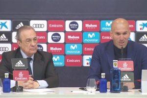 زيدان يعلن الرحيل عن الملكى ريال مدريد رسميا