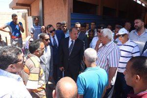 توفير ٣٥ سيارة لسد العجز في عدد السيارات بموقف العلمين بالاسكندرية
