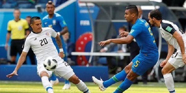 نتيجة وملخص مباراة البرازيل و كوستاريكا مونديال روسيا