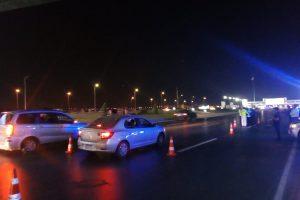 حملات مرورية بطريق الاسكندرية الصحراوي لتوعية قائدى السيارات
