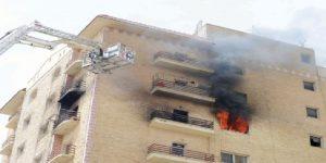 السيطرة على حريق شقة سكنية فى بورسعيد دون إصابات