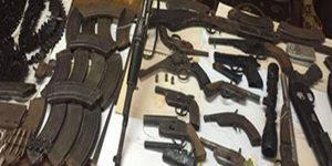 أمن أسيوط يضبط 6 افراد من عائلتين بحوزتهم اسلحة نارية