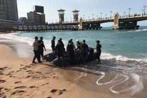 قوات الإنقاذ النهرى تنقذ شاب يحاول الانتحار من أعلى كوبري استانلي