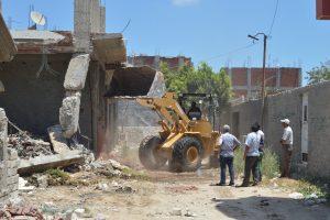 إزالة أكشاك مخالفة بعدة مناطق فى حي شرق بالإسكندرية