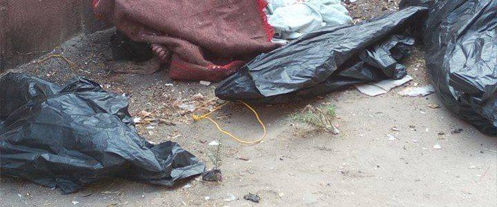 فحص كاميرات المراقبة فى حادث العثور على جثث 3 أطفال بالهرم