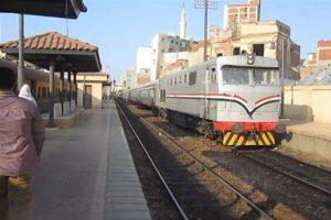 سقوط عجلة من الجرار تؤخر قطار الإسكندرية المنصورة
