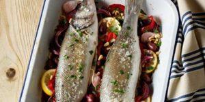 طريقة عمل صينية السمك بالفرن