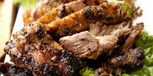 طريقة عمل لحم مشوي بالفرن المقادير: