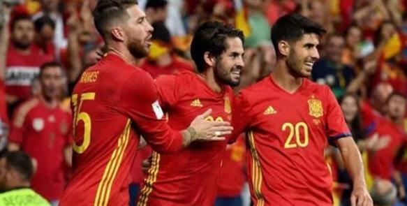 نتيجة مباراة اسبانيا والبوسنة