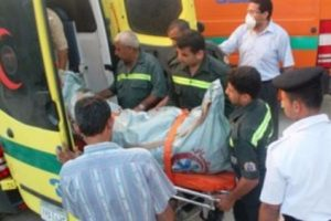 إصابة 8 فى حادث تصادم سيارتين بالوادى الجديد