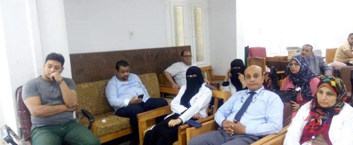 عقد محاضرة عن الطب النفسي و ضغوط الحياة بمستشفى كفر سعد بدمياط … صور