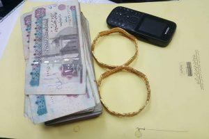 حبس زوج نجلة سيده لاتهامة بذبحها و سرقه ذهبها بدمياط 4 ايام على ذمة التحقيق
