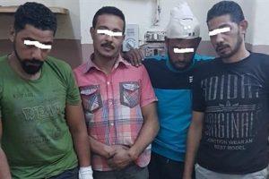 مشاجرة بالسيوف والأسلحة البيضاء بين جزارين وعمال خردة بطنطا