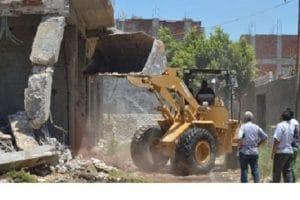 حملة إزالة إشغالات مكبرة من أراضي الدولة بحى العامرية بالاسكندرية