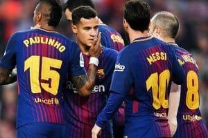 برشلونة يفتتح الدورى الإسبانى فوز عريض