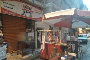 تشميع منفذ جمعيتي للذبح خارج السلخانه بسيدي بشر فى الاسكندرية