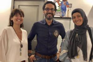 بيان منسوب للفنانة حلا شيحة يعلن عودتها للتمثيل وخلعها الحجاب