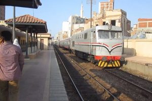 رجوع حركة القطارات بخط دمنهور- دسوق لانحراف واحد من القطارات عن مساره بالبحيرة