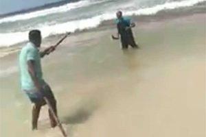 حبس المتهم بقتل نقاش امام زوجته وطفله على شاطىء أبو يوسف بالاسكندرية