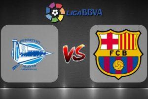 موعد مباراة برشلونة وديبورتيفو الافيس انطلاق الدورى الاسبانى
