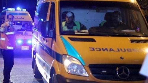 أسماء 11 مصابا فى حادث تصادم على طريق مطروح- الإسكندرية