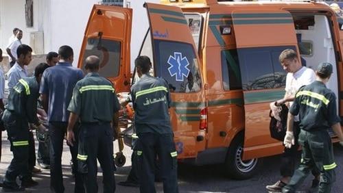 مصرع مواطن وإصابة 12 آخرين فى حادث انقلاب سيارة نقل بالبحيرة